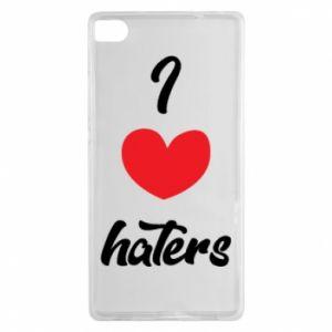Etui na Huawei P8 I love haters