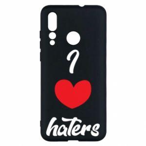 Etui na Huawei Nova 4 I love haters