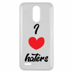 Etui na Lg K10 2017 I love haters