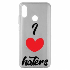 Etui na Huawei Honor 10 Lite I love haters
