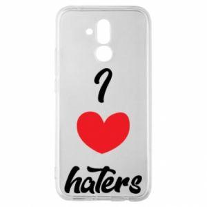Etui na Huawei Mate 20 Lite I love haters