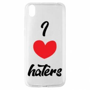 Etui na Huawei Y5 2019 I love haters