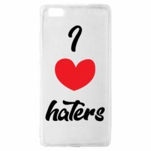 Etui na Huawei P 8 Lite I love haters