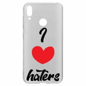 Etui na Huawei Y7 2019 I love haters