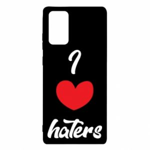 Etui na Samsung Note 20 I love haters