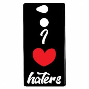 Etui na Sony Xperia XA2 I love haters