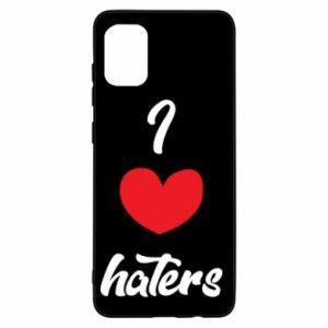 Etui na Samsung A31 I love haters