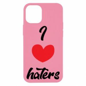 Etui na iPhone 12 Mini I love haters