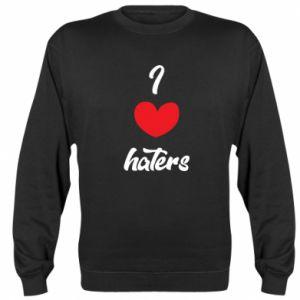 Bluza (raglan) I love haters