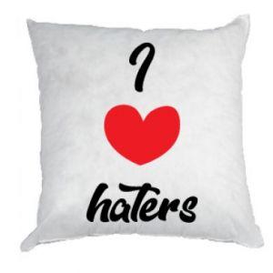 Poduszka I love haters