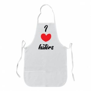 Fartuch I love haters