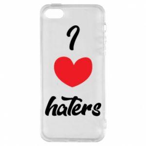 Etui na iPhone 5/5S/SE I love haters