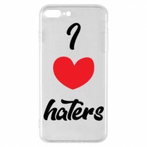 Etui na iPhone 8 Plus I love haters