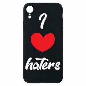 Etui na iPhone XR I love haters
