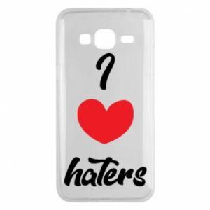 Etui na Samsung J3 2016 I love haters