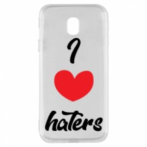 Etui na Samsung J3 2017 I love haters