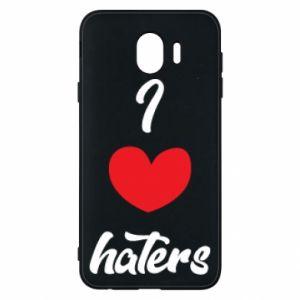 Etui na Samsung J4 I love haters