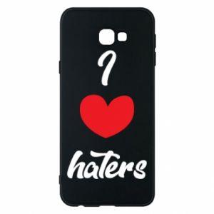 Etui na Samsung J4 Plus 2018 I love haters