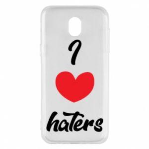 Etui na Samsung J5 2017 I love haters