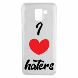 Etui na Samsung J6 I love haters