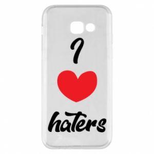 Etui na Samsung A5 2017 I love haters