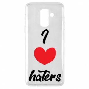 Etui na Samsung A6+ 2018 I love haters