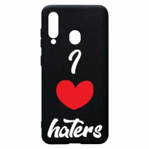 Etui na Samsung A60 I love haters