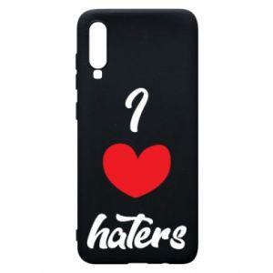 Etui na Samsung A70 I love haters