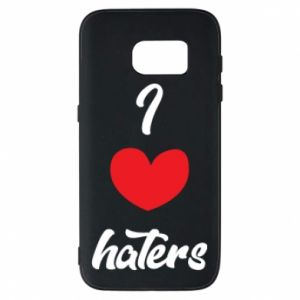 Etui na Samsung S7 I love haters