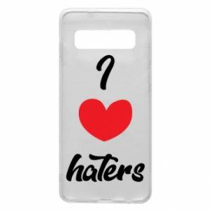 Etui na Samsung S10 I love haters