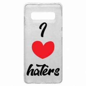 Etui na Samsung S10+ I love haters