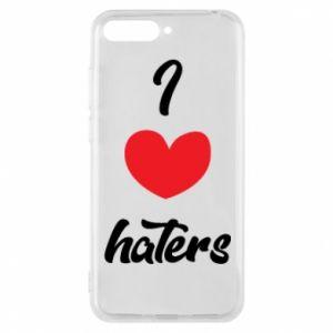 Etui na Huawei Y6 2018 I love haters
