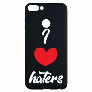 Etui na Huawei P Smart I love haters