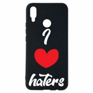 Etui na Huawei P Smart Plus I love haters