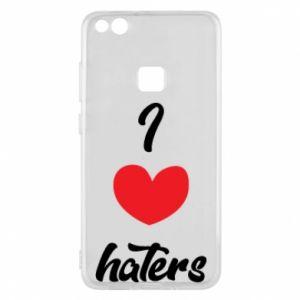 Etui na Huawei P10 Lite I love haters