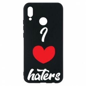 Etui na Huawei P20 Lite I love haters