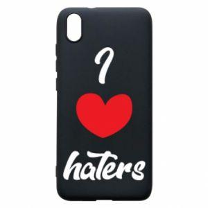 Etui na Xiaomi Redmi 7A I love haters