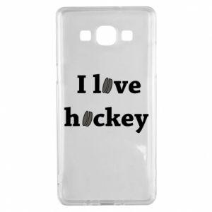 Samsung A5 2015 Case I love hockey