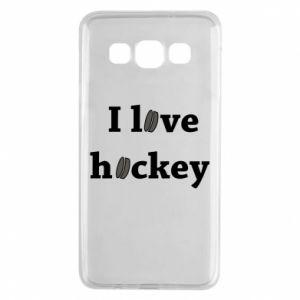 Samsung A3 2015 Case I love hockey
