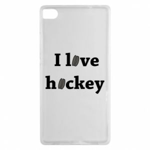 Huawei P8 Case I love hockey