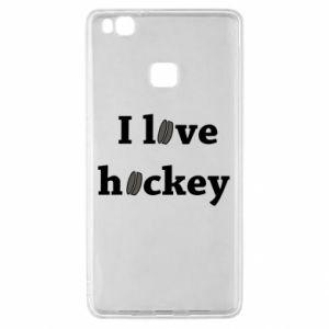 Huawei P9 Lite Case I love hockey