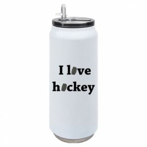 Thermal bank I love hockey