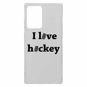 Samsung Note 20 Ultra Case I love hockey