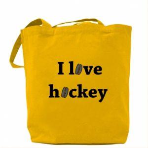 Torba I love hockey