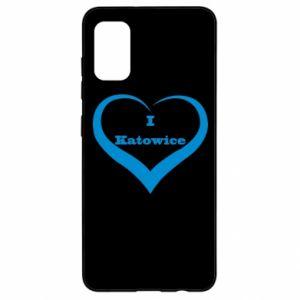 Samsung A41 Case I love Katowice