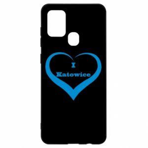 Samsung A21s Case I love Katowice