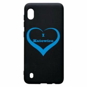 Samsung A10 Case I love Katowice
