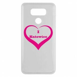 LG G6 Case I love Katowice