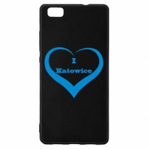Huawei P8 Lite Case I love Katowice