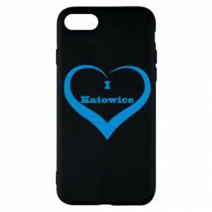 iPhone SE 2020 Case I love Katowice
